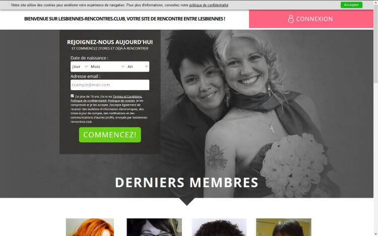 site de rencontre de lesbiennes