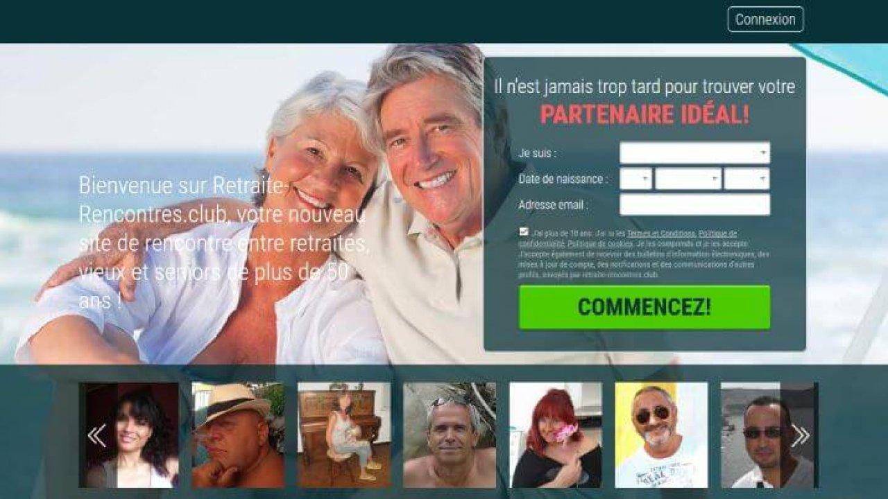 site de rencontre entre retraité