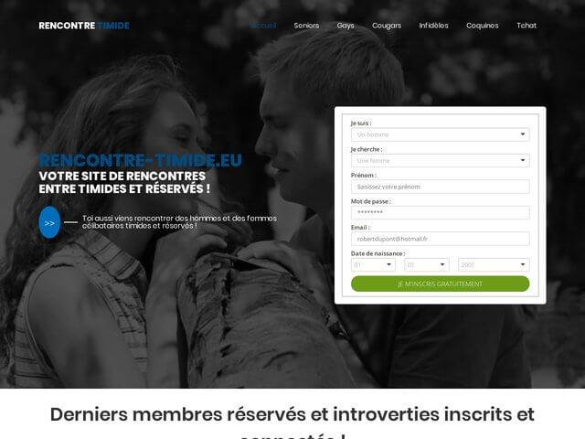 Rencontre-timide : Site de rencontres pour timide